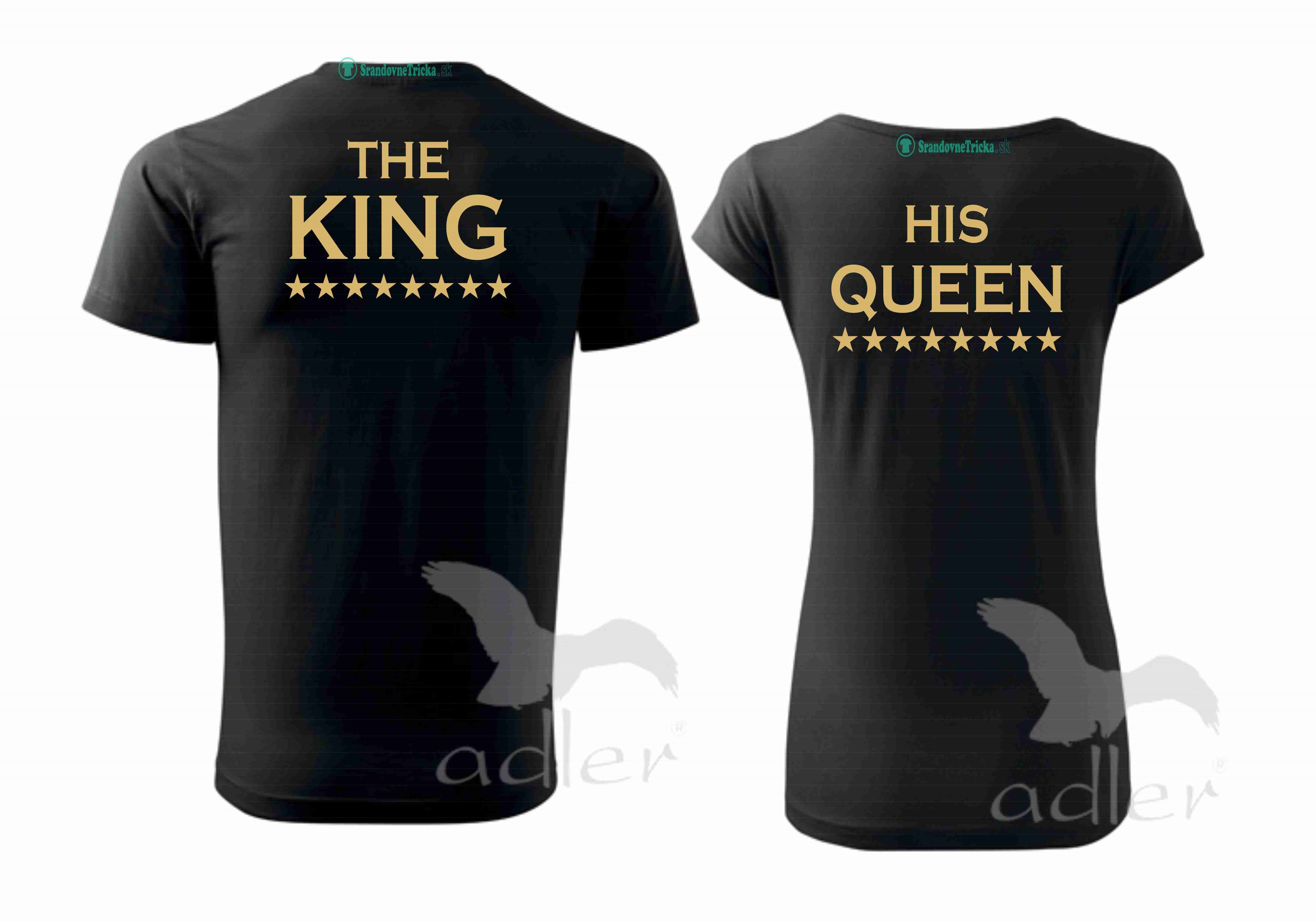The King / His Queen